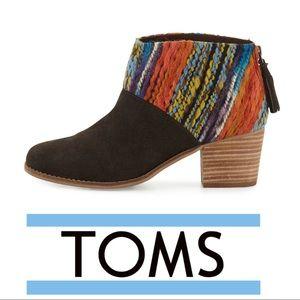 TOMS • Leila Suede Bootie
